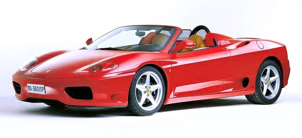 Product picture Ferrari 360 Spider Owners manual US 2003