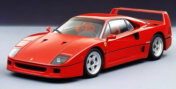 Product picture Ferrari F40 Owners Manual US for 1992.